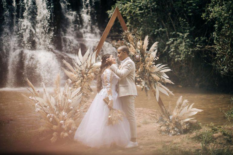 Casamento Brunch surpresa ao nascer do sol em cacheira no interior de São Paulo – Nathalia & Christopher