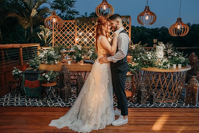 Micro wedding romântico e doce numa tarde adorável – Rita & Robson