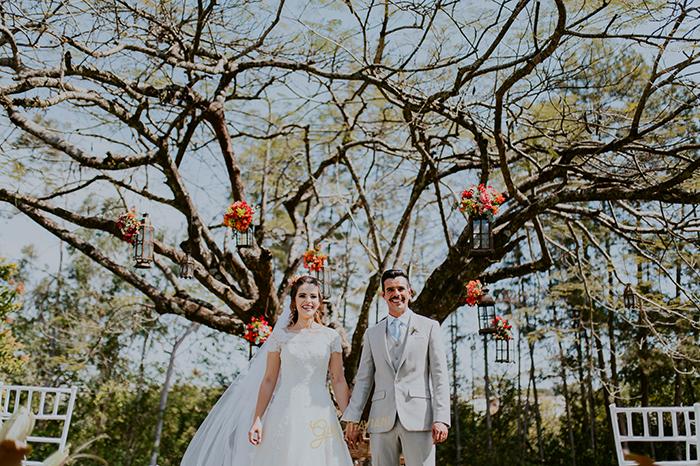 Casamento no campo numa manhã adorável e ensolarada no interior de São Paulo – Yasmin & Danilo