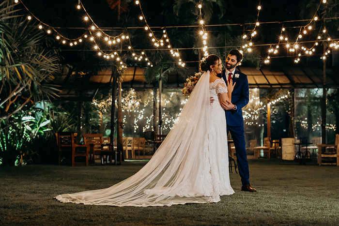 Casamento no campo em tarde chuvosa com Plano B no Rio de Janeiro – Patricia & Sander