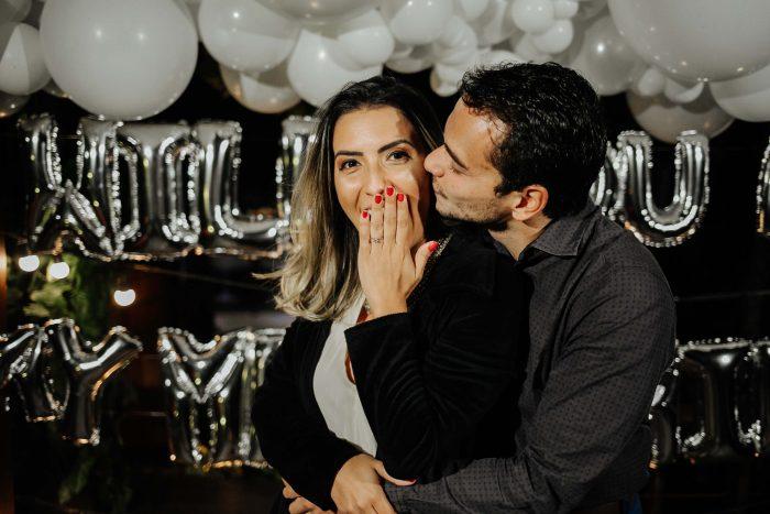 Pedido de casamento surpresa numa noite encantadora em Brasília – Raquel & Pedro