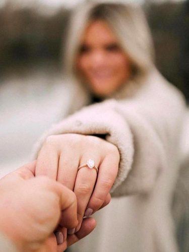 anel para pedido de noivado
