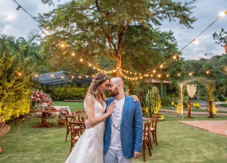 Micro wedding no campo numa tarde cheia de amor na Fazenda Dona Inês – Maria Gabriela & Gabriel