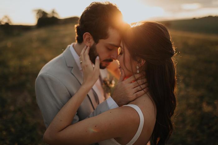 Casamento intimista no campo numa tarde admirável em Maringá – Giovana & Felipe