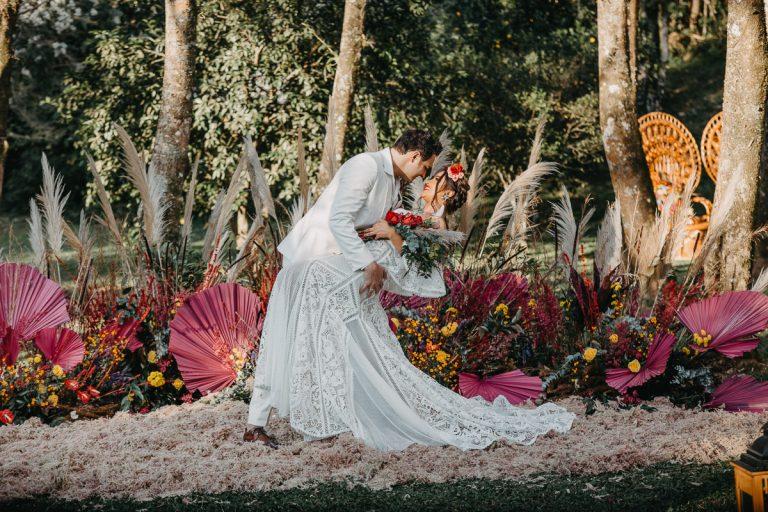 {Editorial Enamorarse} Muitas cores e alegria para casamento inspirado na cultura latina