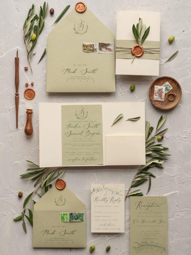 Tipos de papel para convite de casamento