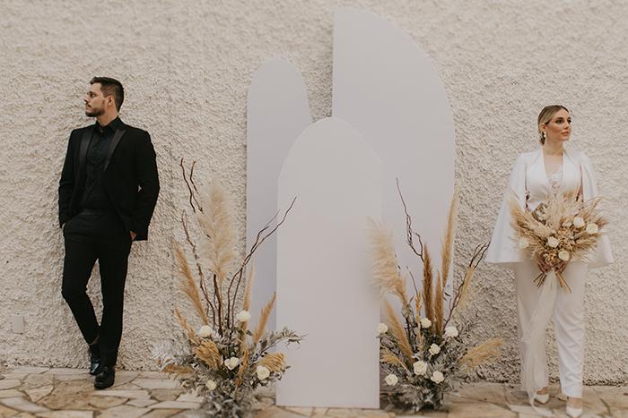 {Editorial Less is More} Um elopement wedding minimalista cheio de autenticidade