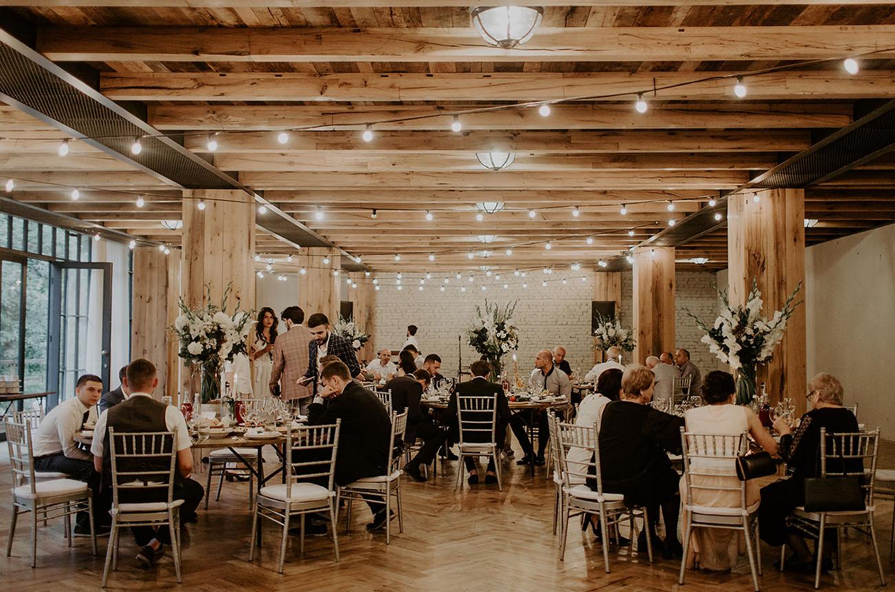 festa de casamento intimista