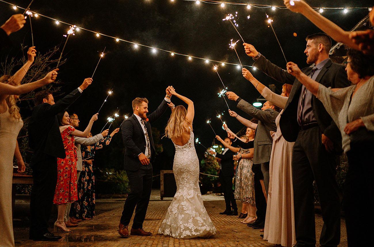 festa de casamento pequeno