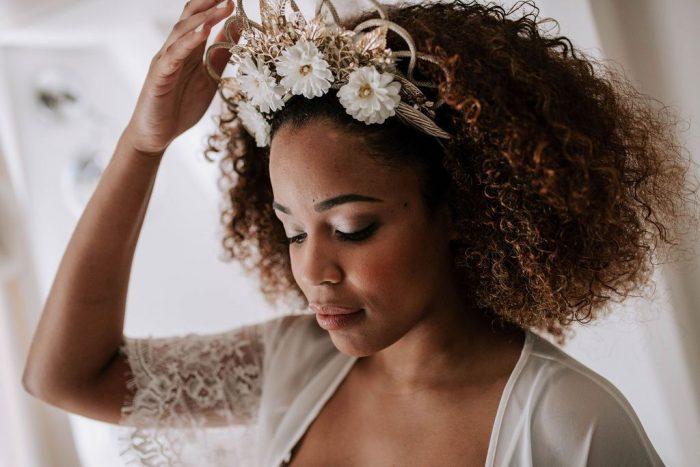 Tudo sobre penteado de noiva para cabelo cacheado