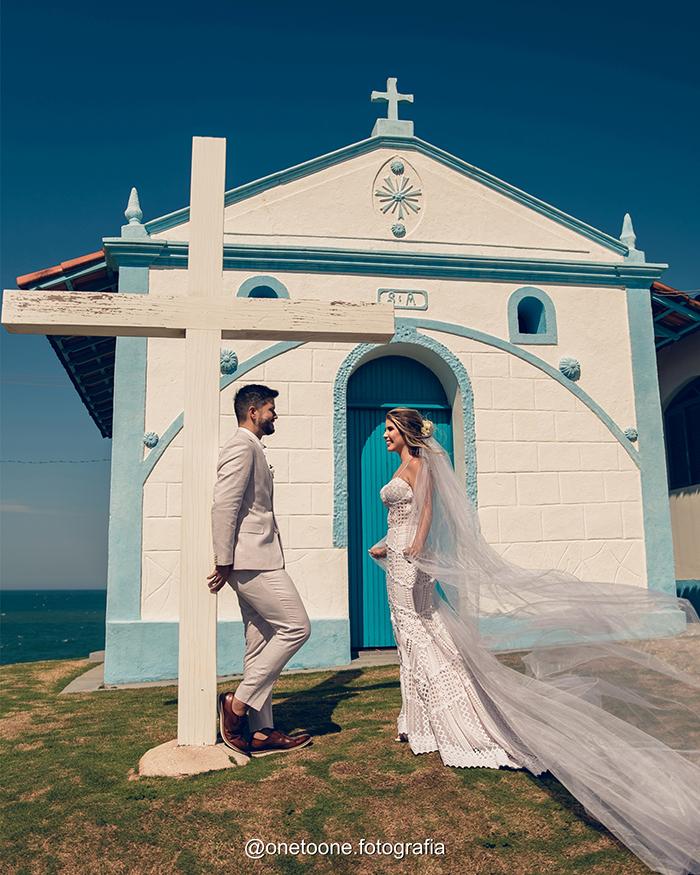 Casamento na igreja numa manhã iluminada e adorável no Espirito Santo – Mariana & Marcelo
