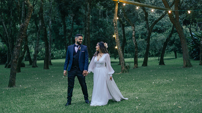 Micro Wedding no campo adorável num dia perfeito para dizer SIM no Ravena Garden – Sara & Jonas