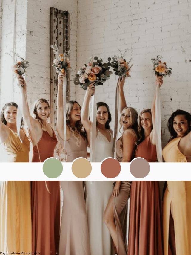 Paleta de cores: como escolher a ideal para o seu casamento?