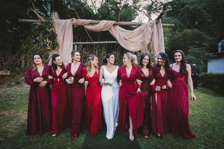 """Mini Wedding ao ar livre numa tarde iluminada e encantadora para dizer """"SIM"""" no Rio de Janeiro – Camila & Rafael"""