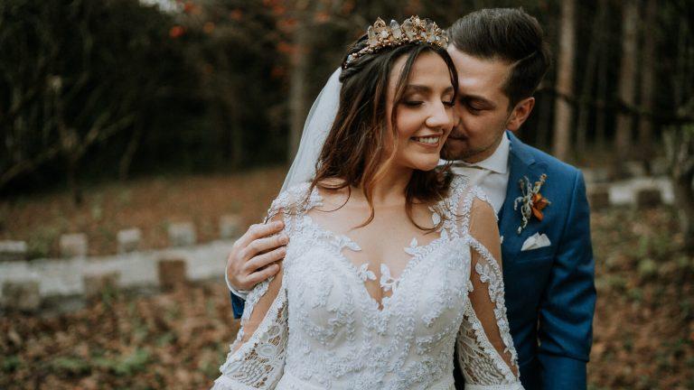 Casamento boho ao ar livre numa tarde iluminada e adorável no Paraná – Bárbara & José