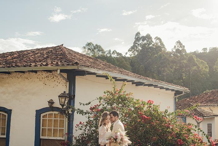Elopement wedding romântico com café da manhã em Minas Gerais – Alexia & Lucas