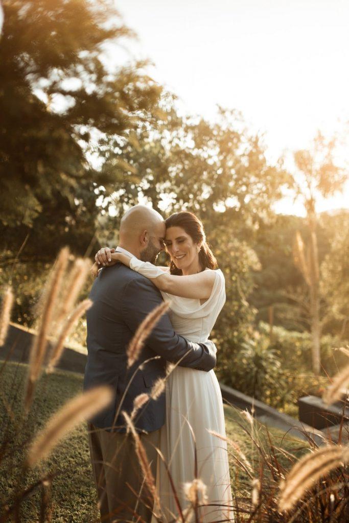 Micro wedding intimista em manhã romântica na Una Fabbrica- Bruna & Ricardo