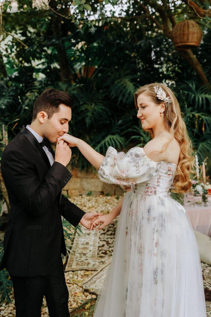 Elopement wedding romântico com piquenique numa tarde lindíssima em Florianópolis – Isa & Bruno