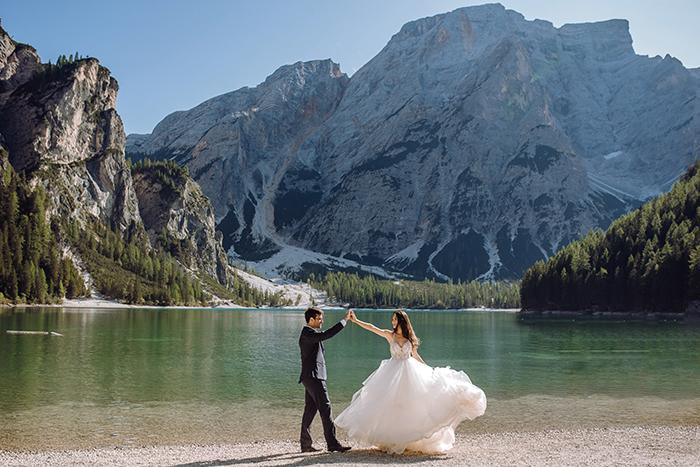 Suellen Fernandes Weddings & Celebrations: realiza o sonho de noivos que desejam celebrar o amor na Itália