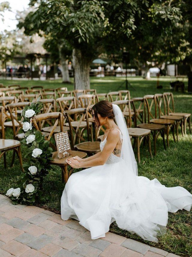 6 ideias de homenagens póstumas para o dia do seu casamento