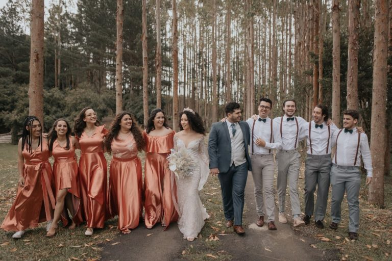 Casamento boho ao ar livre cheio de personalidade em tarde adorável em Curitiba – Cristina & Gabriel