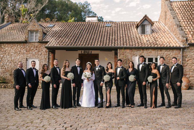 """Casamento clássico com toque rústico numa tarde fabulosa para dizer """"SIM"""" no interior de São Paulo – Raissa & Victor"""