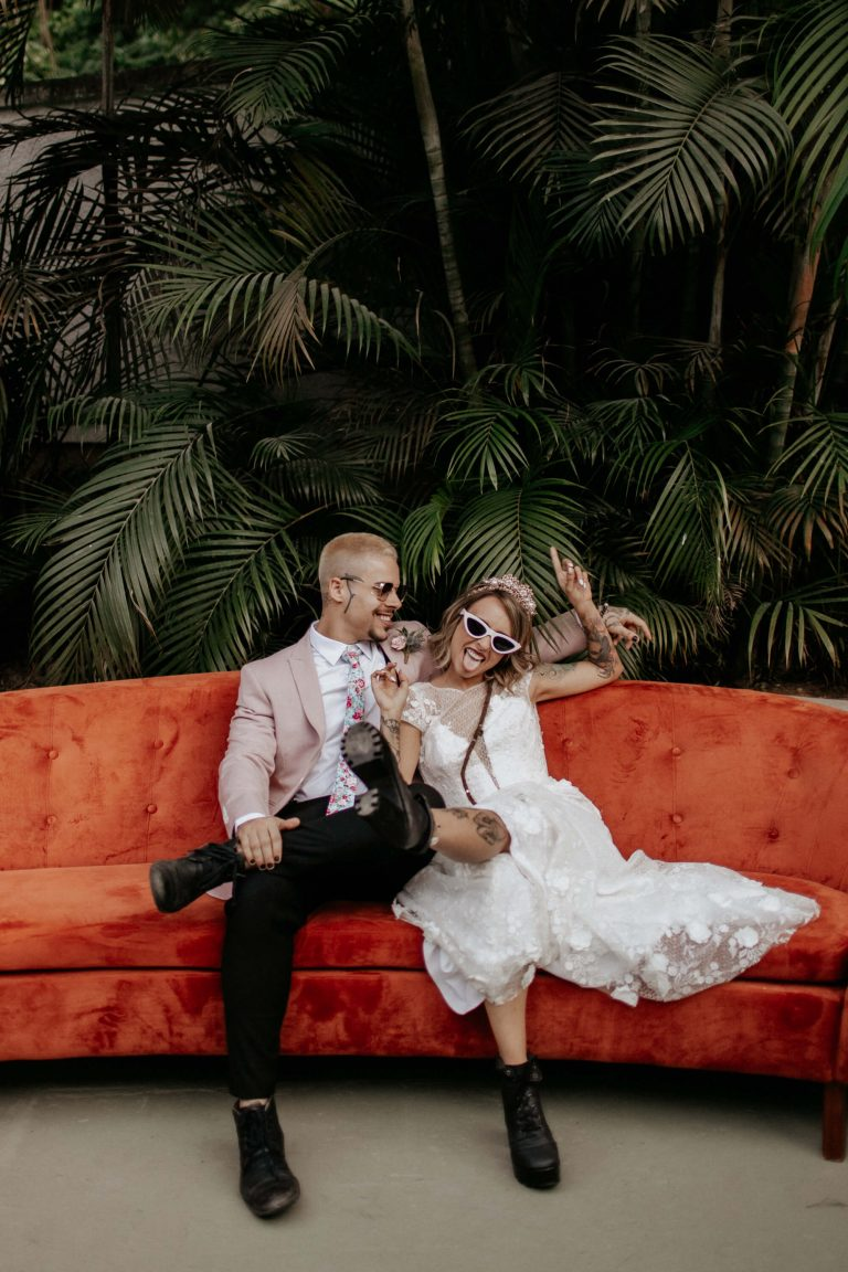 {Editorial It's cool to get married} O estilo Vegas Wedding num editorial cheio de personalidade