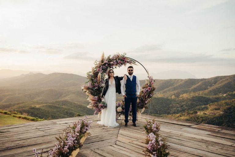 Casamento romântico com ares vintage em Ouro Preto – Sara & Jonas