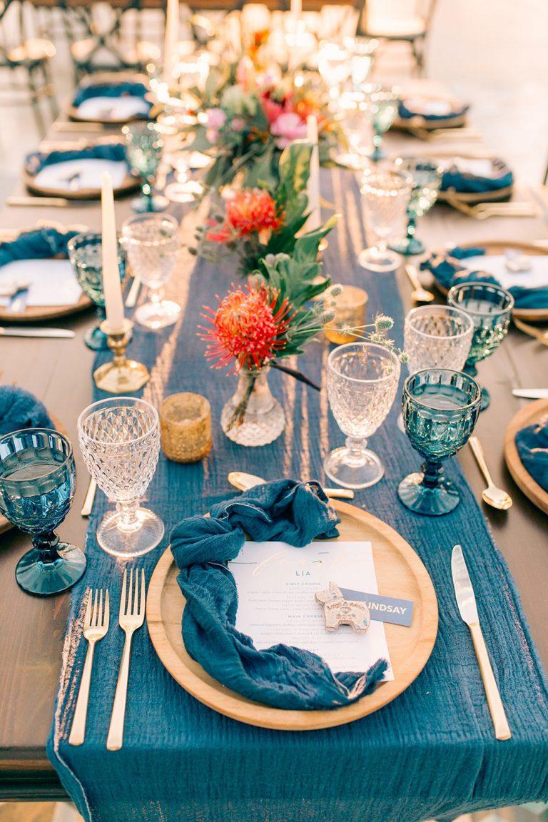 Casamento Azul: dicas e inspirações para usar essa cor no seu casamento!